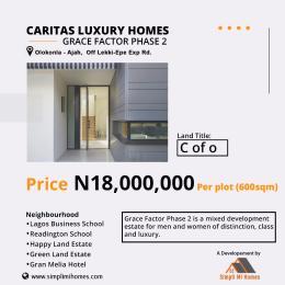 Residential Land Land for sale Olokonla - Ajah off lekki epe express road Lakowe Ajah Lagos