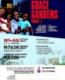 Mixed   Use Land Land for sale Grace Gardens is located midway between Isiokpo Junction and Ubima Town Ikwerre Rivers