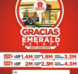 Residential Land Land for sale Inside Abijo Lagos Estate. Abule Egba Lagos