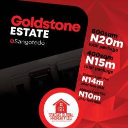 Residential Land Land for sale Off Monastery Road behind Novare Mall (Shoperite) Sangotedo Sangotedo Ajah Lagos