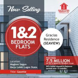 2 bedroom Blocks of Flats House for sale Opposite Poweroil Free Trade Zone Ibeju-Lekki Lagos