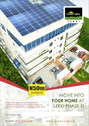 3 bedroom Shared Apartment Flat / Apartment for sale GREEN CITY ESTATES: Elf Bustop, 2nd Round About by Petrolcam Filling Station and City Lodge Hotel Lekki Phase 1 Lekki Lagos