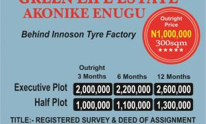 Residential Land Land for sale AKONIKE ENUGU Enugu Enugu