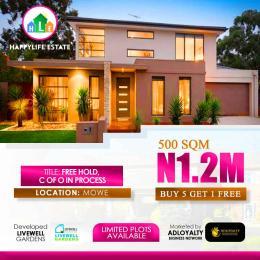 Residential Land Land for sale Mowe Obafemi Owode Ogun