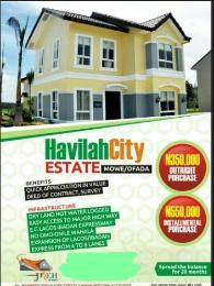 Land for sale Mowe Ofada- Havilah City Ofada Obafemi Owode Ogun