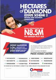 Residential Land Land for sale Hectars of Diamond 2 is behind shoprite sangotedo Monastery road Sangotedo Lagos