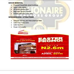 Serviced Residential Land Land for sale 15 minutes drive from dangote refinery ibeju Lekki Ogogoro Ibeju-Lekki Lagos