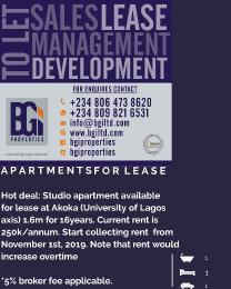 1 bedroom mini flat  Self Contain Flat / Apartment for sale Sholanke Akoka Yaba Lagos