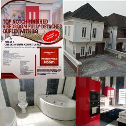 4 bedroom Detached Duplex House for sale Before Chevron Toll Gate Ikota Lekki Lagos Ikota Lekki Lagos