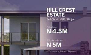 Residential Land Land for sale Hill Crest Estate; Sabon-lugbe, Lugbe Abuja