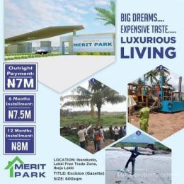 Mixed   Use Land Land for sale Iberekodo street Lekki Iberekodo Ibeju-Lekki Lagos