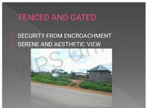 Land for sale 6mins drive from Ewekoro Itori phase 2 , ibese road Abese Ewekoro Ogun - 1