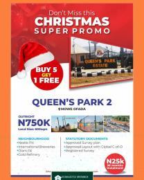 Residential Land Land for sale Mowe Ofada Sagamu Ogun
