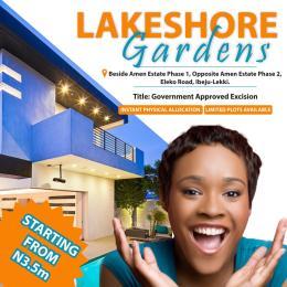 Mixed   Use Land Land for sale beside Amen Estate Phase I, opposite Amen Estate Phase II, Eleko road, Ibeju-lekki Eleko Ibeju-Lekki Lagos - 1