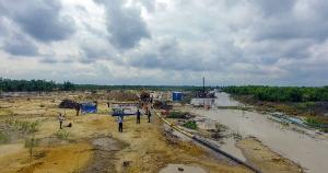 Land for sale Opposite Crown Estate, close to Novare Shoprite Sangotedo Ajah Lagos - 0
