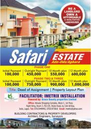 Residential Land Land for sale Safari Estate Ado-Odo/Agbara Agbara Agbara-Igbesa Ogun