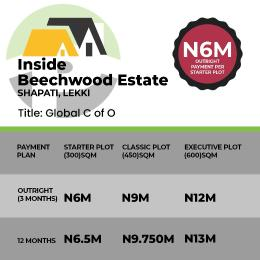 Mixed   Use Land Land for sale Inside beechwood Estate, Shapati, Lekki Eleko Ibeju-Lekki Lagos