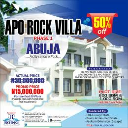 Serviced Residential Land Land for sale By sport, Nepa junction  Apo Abuja