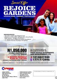 Land for sale Magbuoba Port Harcourt Rivers