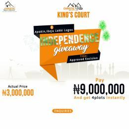 Residential Land Land for sale Akpakin Community Ibeju-Lekki Lagos