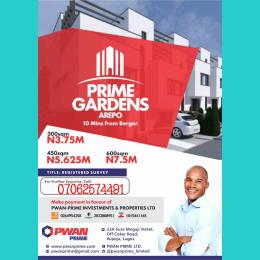 Residential Land Land for sale Arepo Arepo Ogun