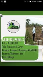 Land for sale . Ijebu Ode Ijebu Ogun - 0