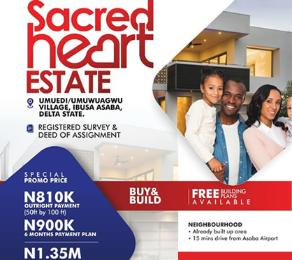 Residential Land Land for sale Umuedi/umuwuagwu village ibusa asaba  Asaba Delta