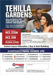 Residential Land Land for sale Avu oforola Owerri Imo