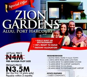 Residential Land Land for sale Aluu Port Harcourt Rivers