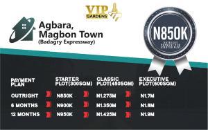 Mixed   Use Land Land for sale Agbara, Magbon Town(Badagry Expressway)  Magbon Badagry Lagos