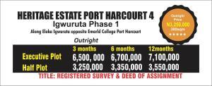 Residential Land Land for sale Igwurta-Ali Port Harcourt Rivers