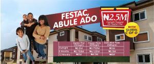 Land for sale Omonile Pure Water Iba Ojo Lagos
