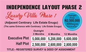 Residential Land Land for sale behind centenary. Ezeagu Enugu