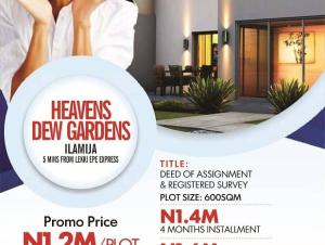 Residential Land Land for sale A few minutes from the Express Way at Ilamija Ibeju-Lekki  Ibeju-Lekki Lagos