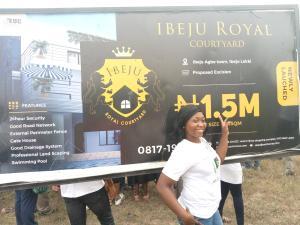 Residential Land Land for sale Ibeju agbe town. Eleko Ibeju-Lekki Lagos