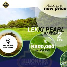 Residential Land Land for sale 2 Minutes Drive From LA Campaign Tropicana Resort  LaCampaigne Tropicana Ibeju-Lekki Lagos - 1