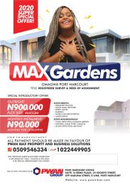 Mixed   Use Land Land for sale Omagwa Portharcourt Ikwerre Port Harcourt Rivers