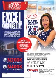 Mixed   Use Land Land for sale 20 minutes drive from Canaanland  Ota-Idiroko road/Tomori Ado Odo/Ota Ogun