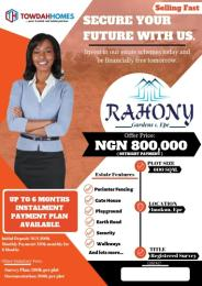 Land for sale Yewa Road, off Poka Junction Epe Lagos