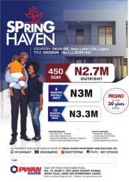 Commercial Land Land for sale Okun-ise ibeju lekki Lagos State  Ise town Ibeju-Lekki Lagos