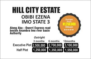 Serviced Residential Land Land for sale Along Aba-Owerri Express way, beside Anambra Imo river basin Authority  Owerri Imo