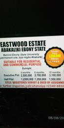 Residential Land Land for sale Behind Ebonyi State University Permanent Site, Izza Mgbo  Ezza Ebonyi