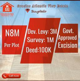 Serviced Residential Land Land for sale Abijo G R.A Estate Sangotedo Ajah Lagos