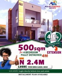 Residential Land Land for sale Lugbe, directly behind River Park Estate.  Lugbe Abuja