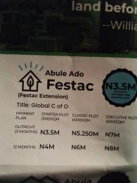 Residential Land Land for sale Title: Global C of O  Festac Amuwo Odofin Lagos