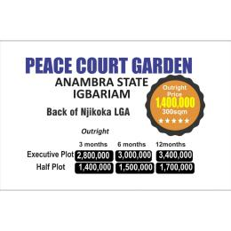 Residential Land Land for sale Igbariam,  at the back of Njikoka Local Govt Njikoka Anambra