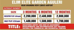 Mixed   Use Land Land for sale Aguleri, Near Anambra New Cargo Airport Anambra Anambra