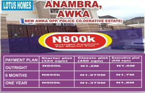 Residential Land Land for sale New Awka. Opp. Police Cooperative Estate Awka North Anambra