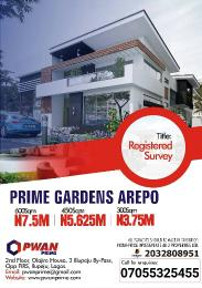 Serviced Residential Land Land for sale Association road Arepo Arepo Ogun