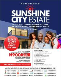 Residential Land Land for sale Umuwuagu village, ibusa  Asaba Delta